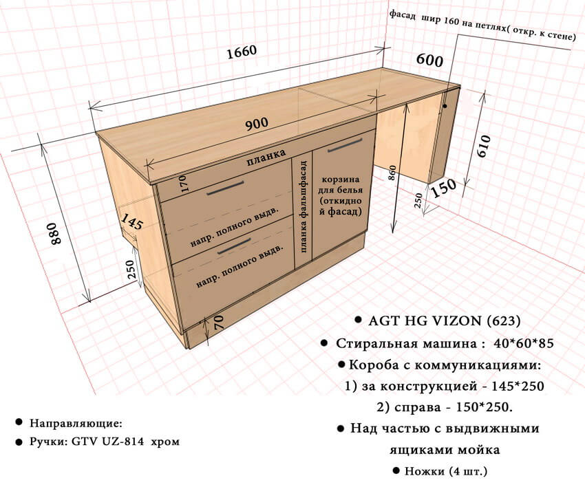 Фото корпусной мебели на заказ 17