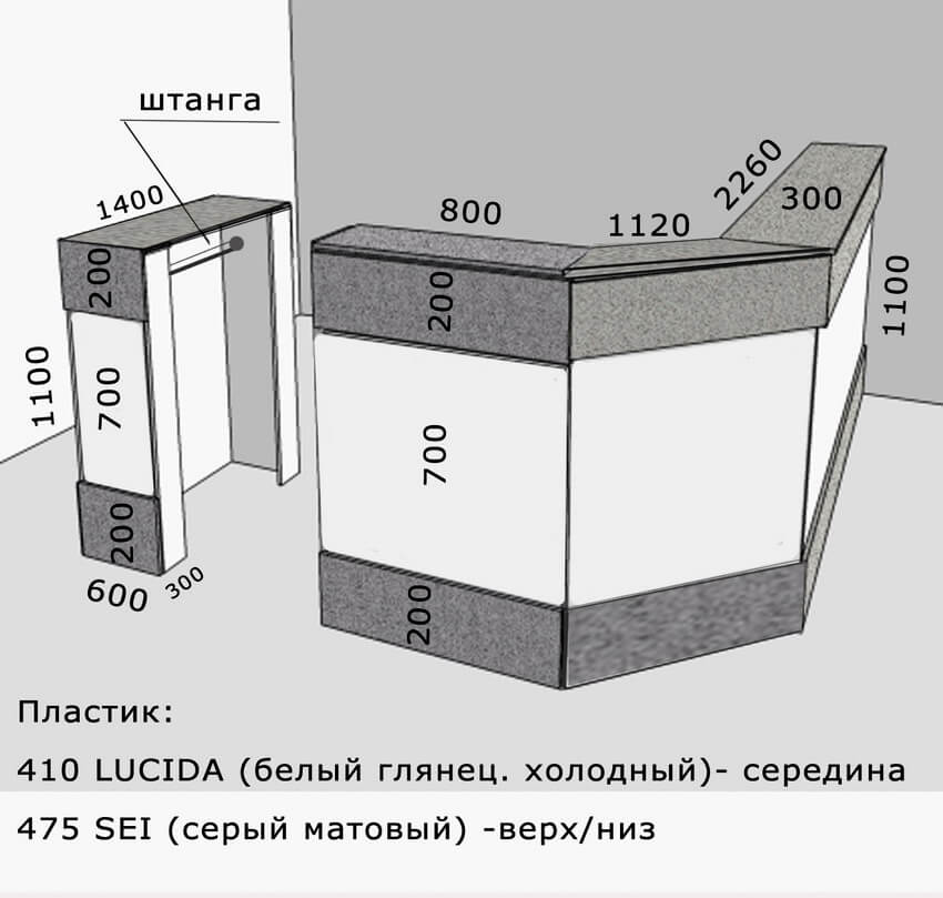 Фото корпусной мебели на заказ 7