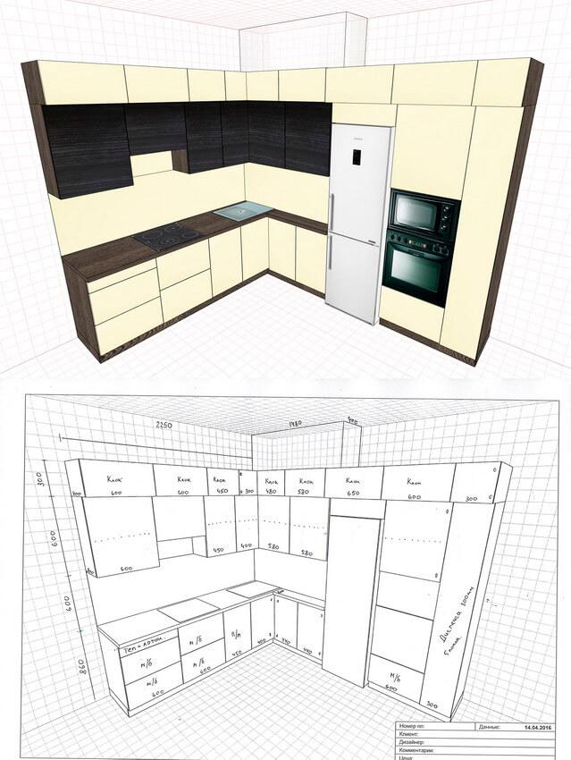 Фото кухни на заказ 7