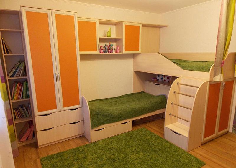 Детская комната двухместная на заказ