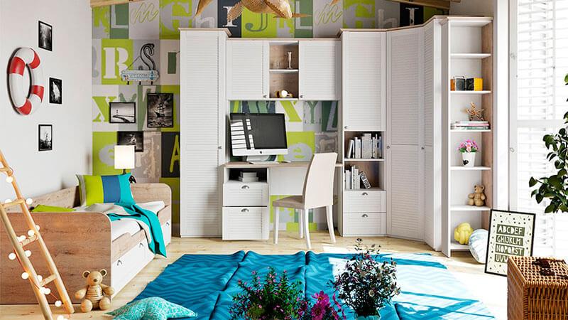 Детская комната в средиземноморском стиле на заказ