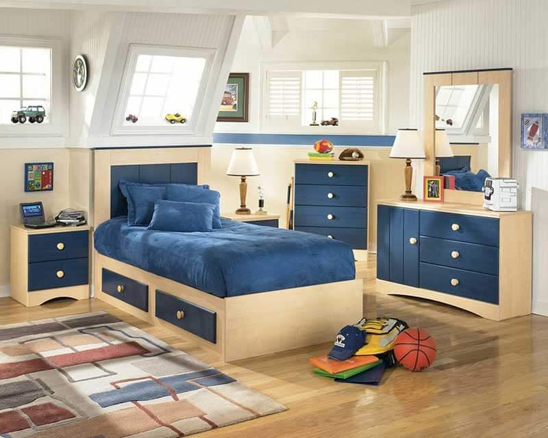 Детская мебель двухцветная на заказ