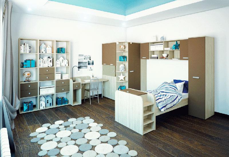 Детская комната с кроватью на заказ