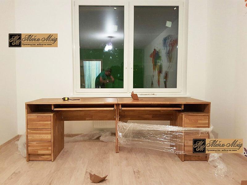 Письменный стол на двоих на заказ