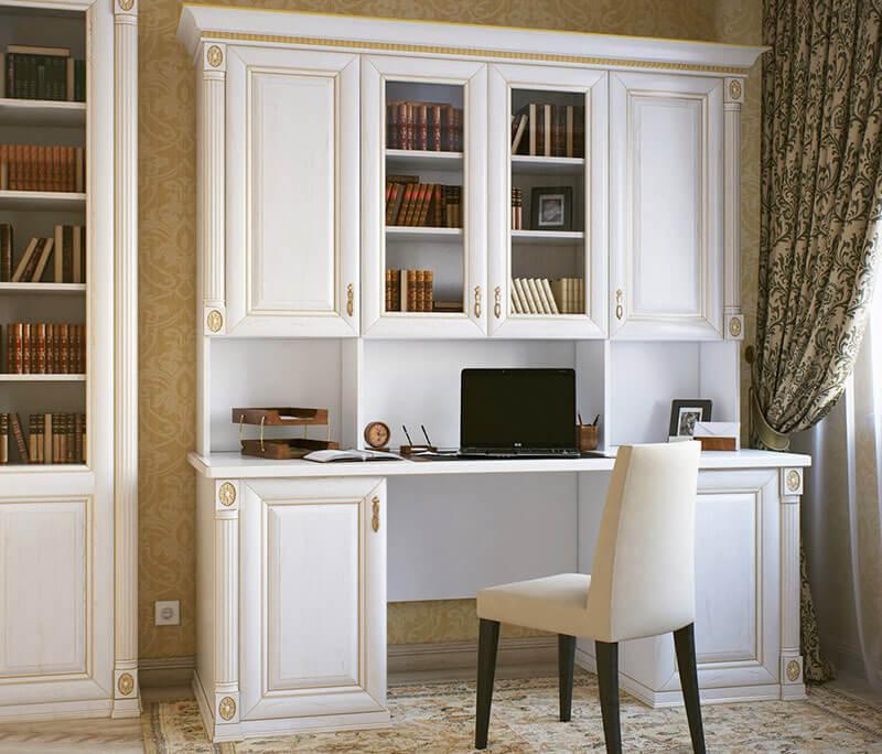 Письменный стол в классическом стиле на заказ