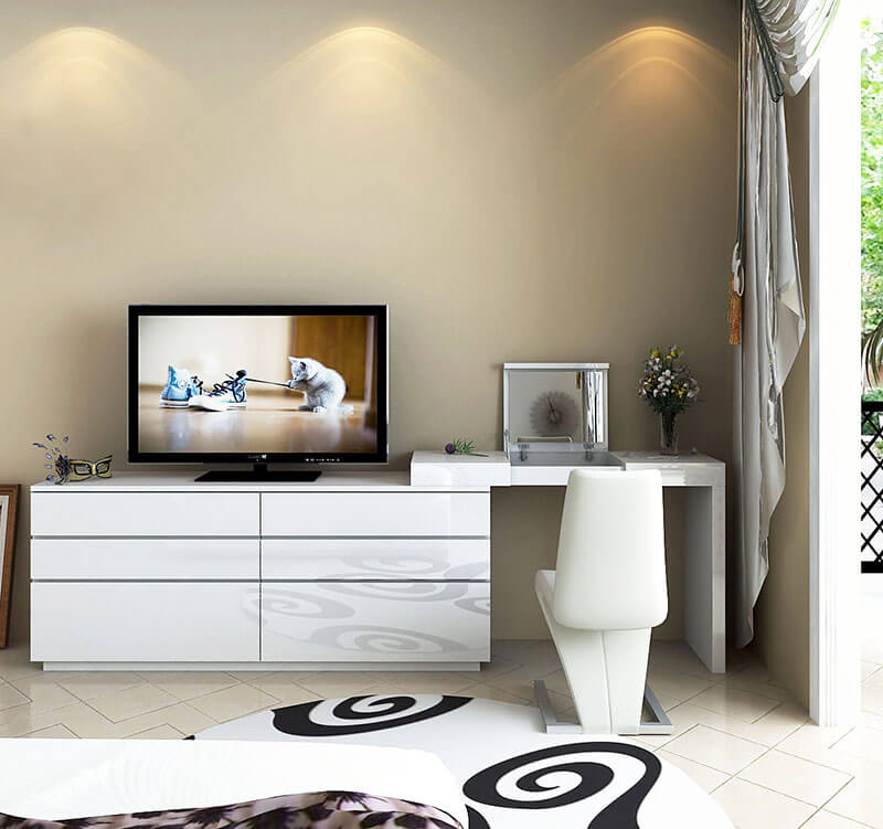 Туалетный столик белого цвета на заказ