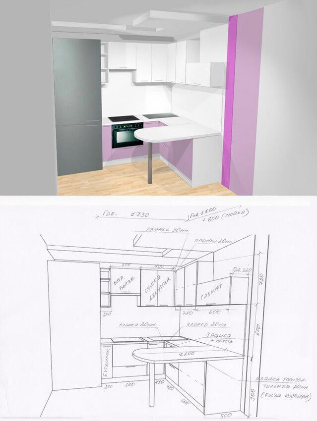 Фото кухни на заказ 1