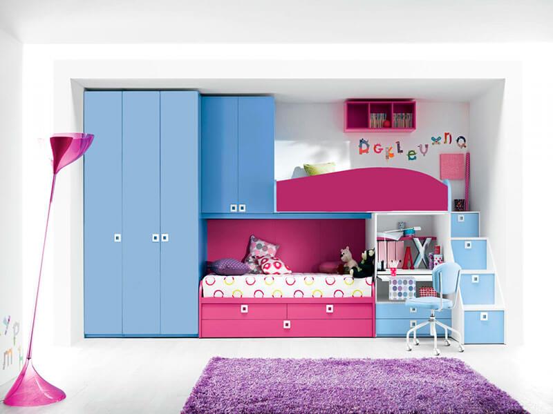 Детская комната на двоих детей на заказ