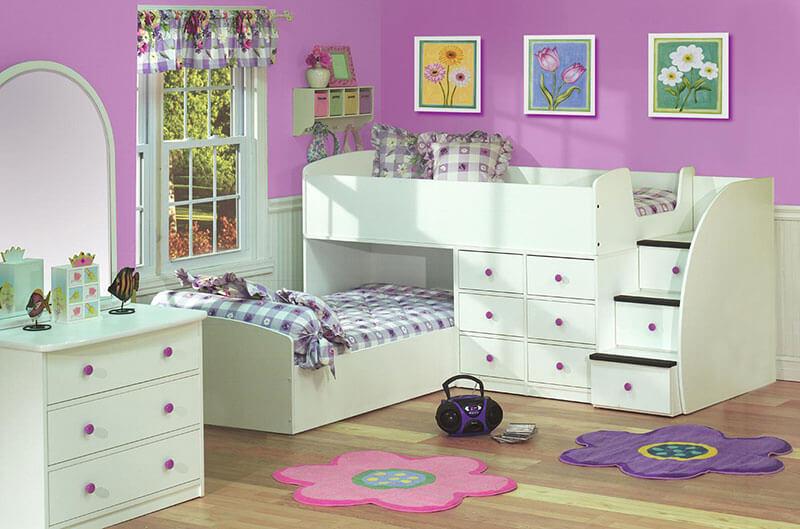 Светлая детская мебель на заказ