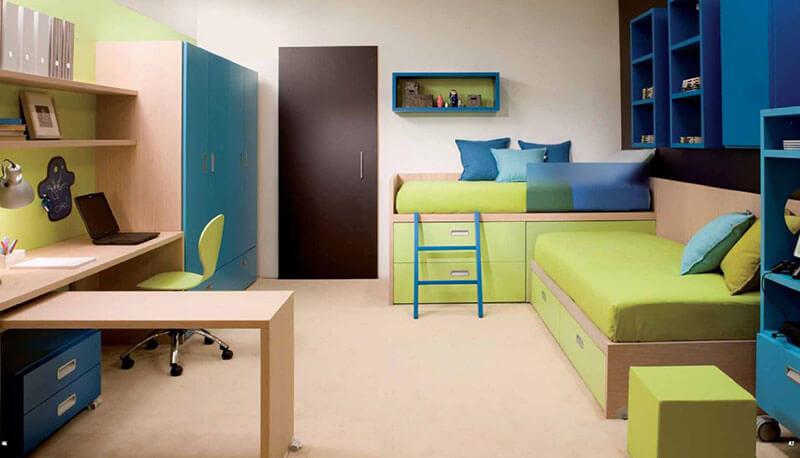 Детская мебель для двоих детей на заказ