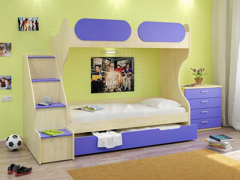 Двухярусная кровать для детей на заказ