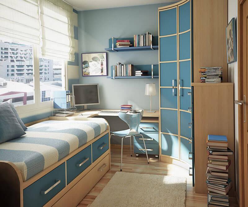 Детская мебель со шкафом и кроватью на заказ