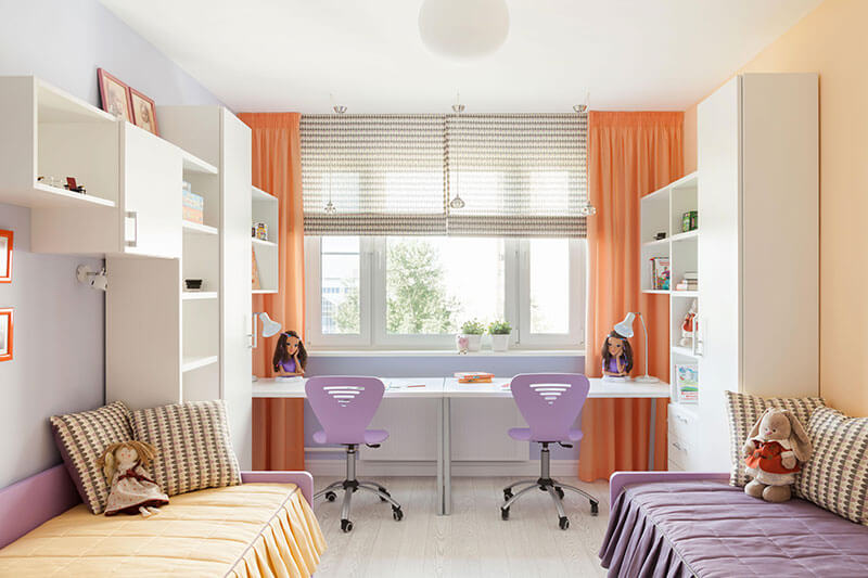 Детская комната для двоих на заказ